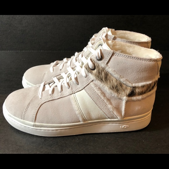 a22aefe5e2c Ugg Cali sneaker high II spillseam WHITE SIZE 10 NWT